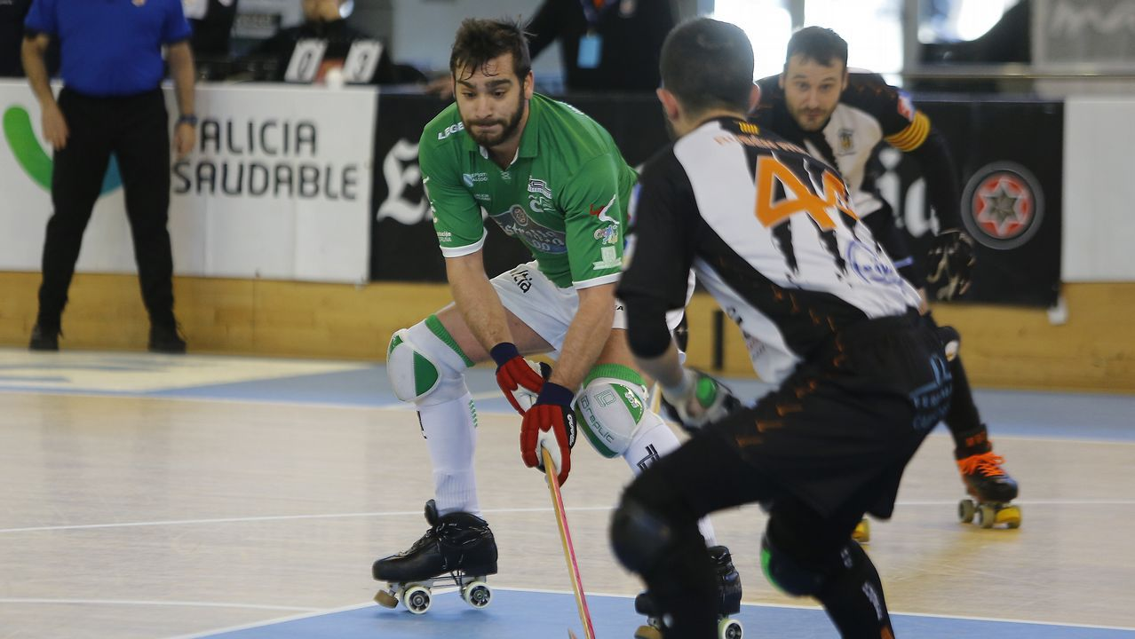 Semifinal, Liceo-Igualada.El equipo de Juan Copa sufrió una inesperada derrota