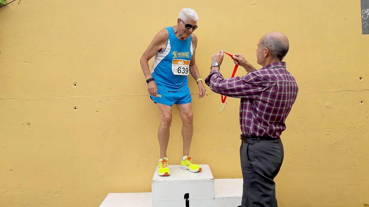 Las imágenes del medio maratón de O Camiño