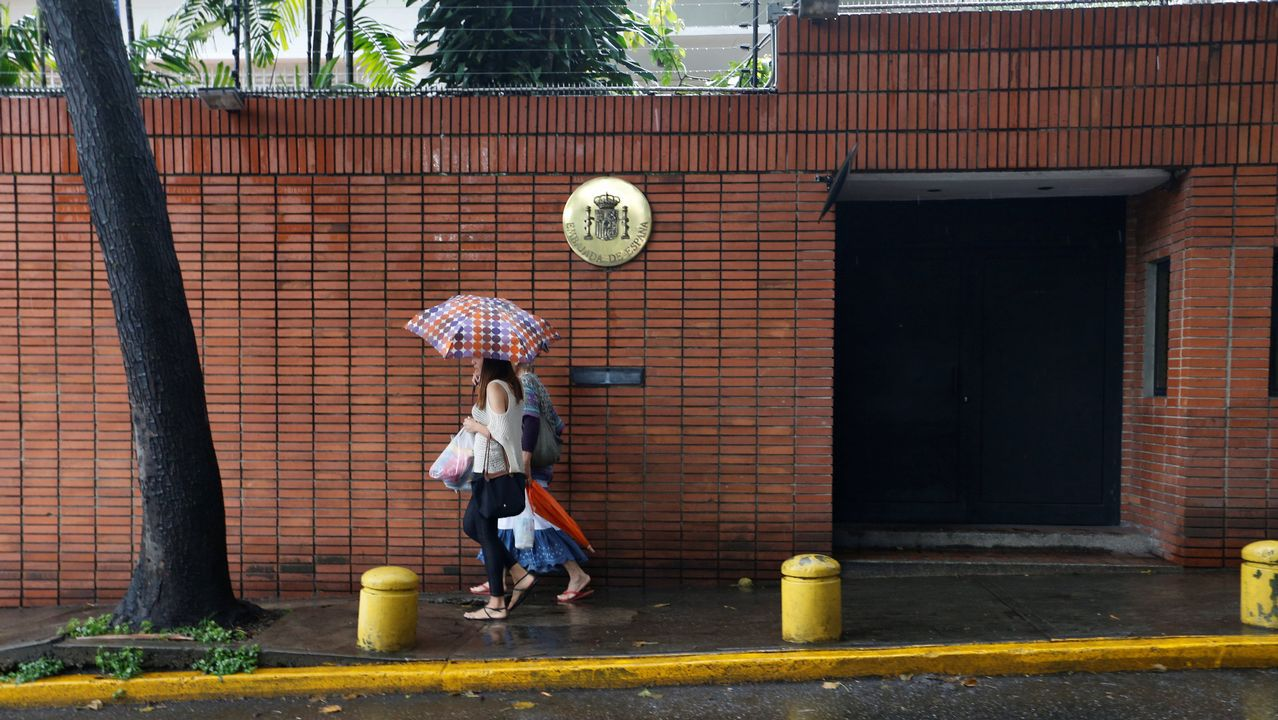 .La embajada de España en Venezuela