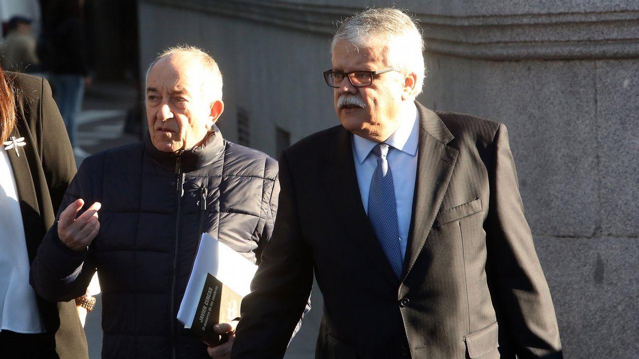 Ángel Antonio del Valle, presidente de Duro Felguera.Junta General de Accionistas de Duro Felguera