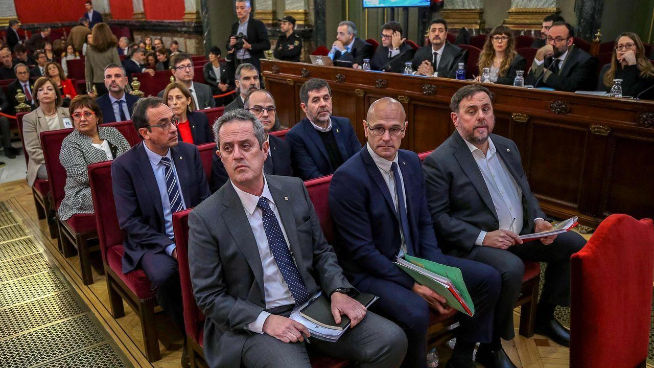 | EFE.El exsecretario de Estado de Seguridad José Antonio Nieto, durante su declaración en el Tribunal Supremo