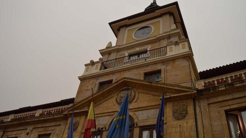 El diputado del PP, David González Medina..Ayuntamiento de Oviedo