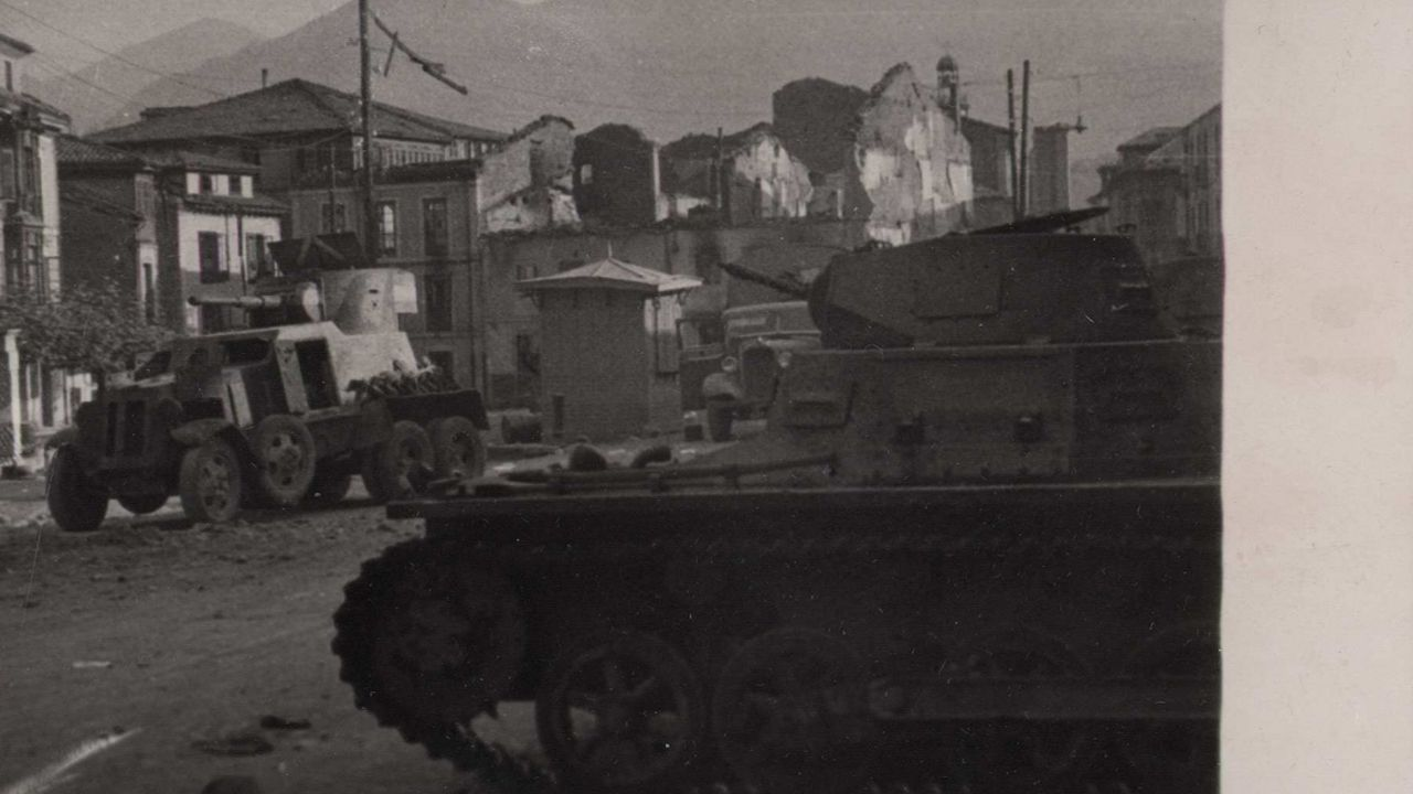 Tanques en Infiesto