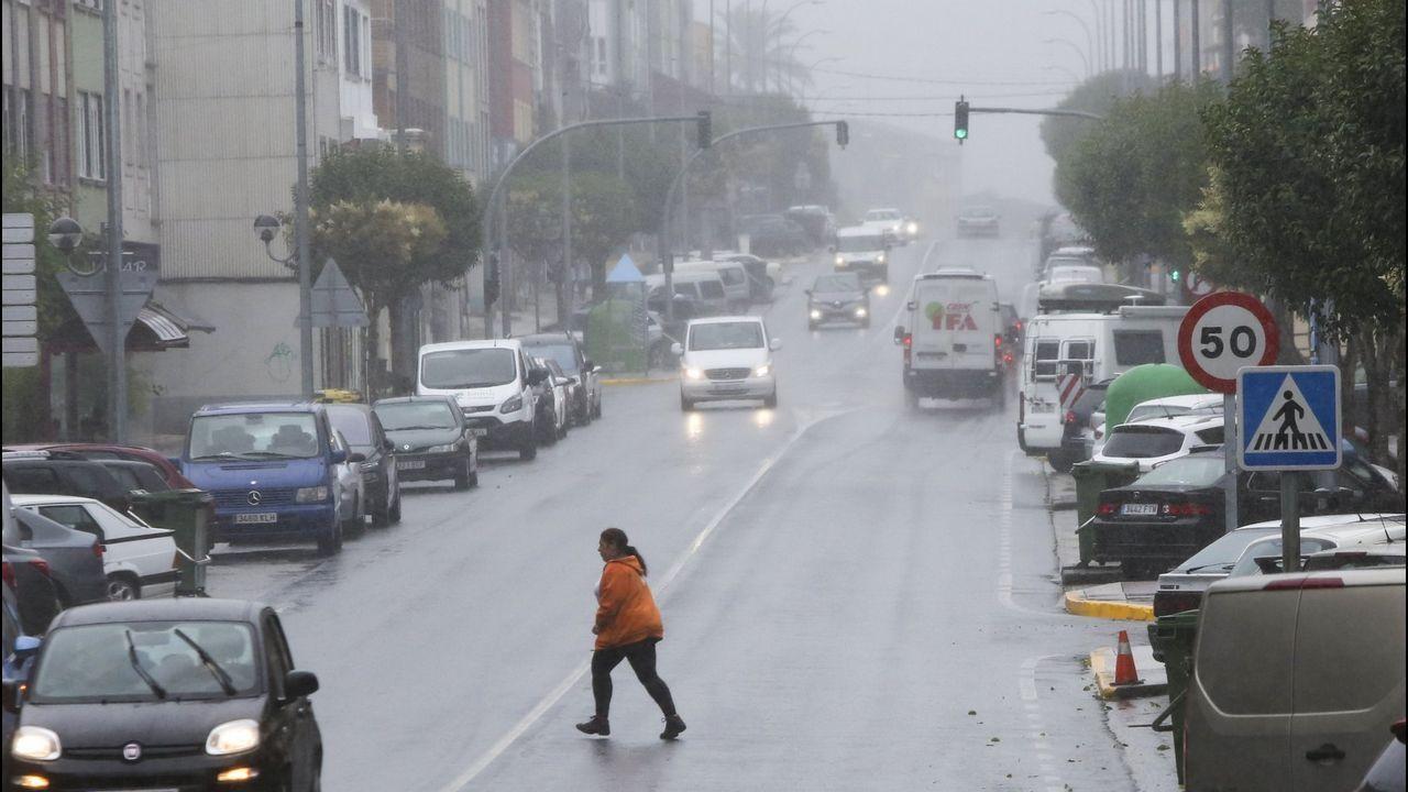 Foto de archivo de la Carretera de Castilla, en Ferrol