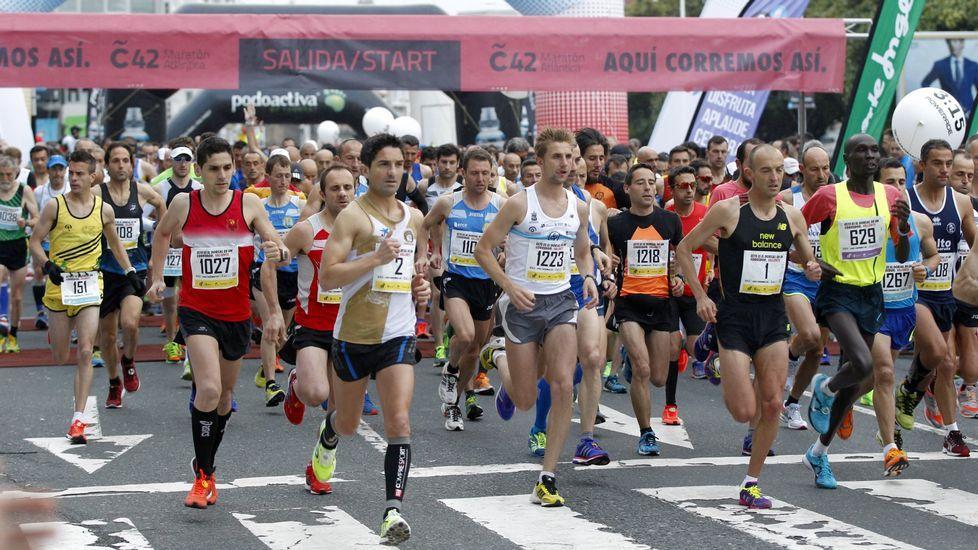 ¿Estuviste en la Maratón y en la carrera Coruña 10?