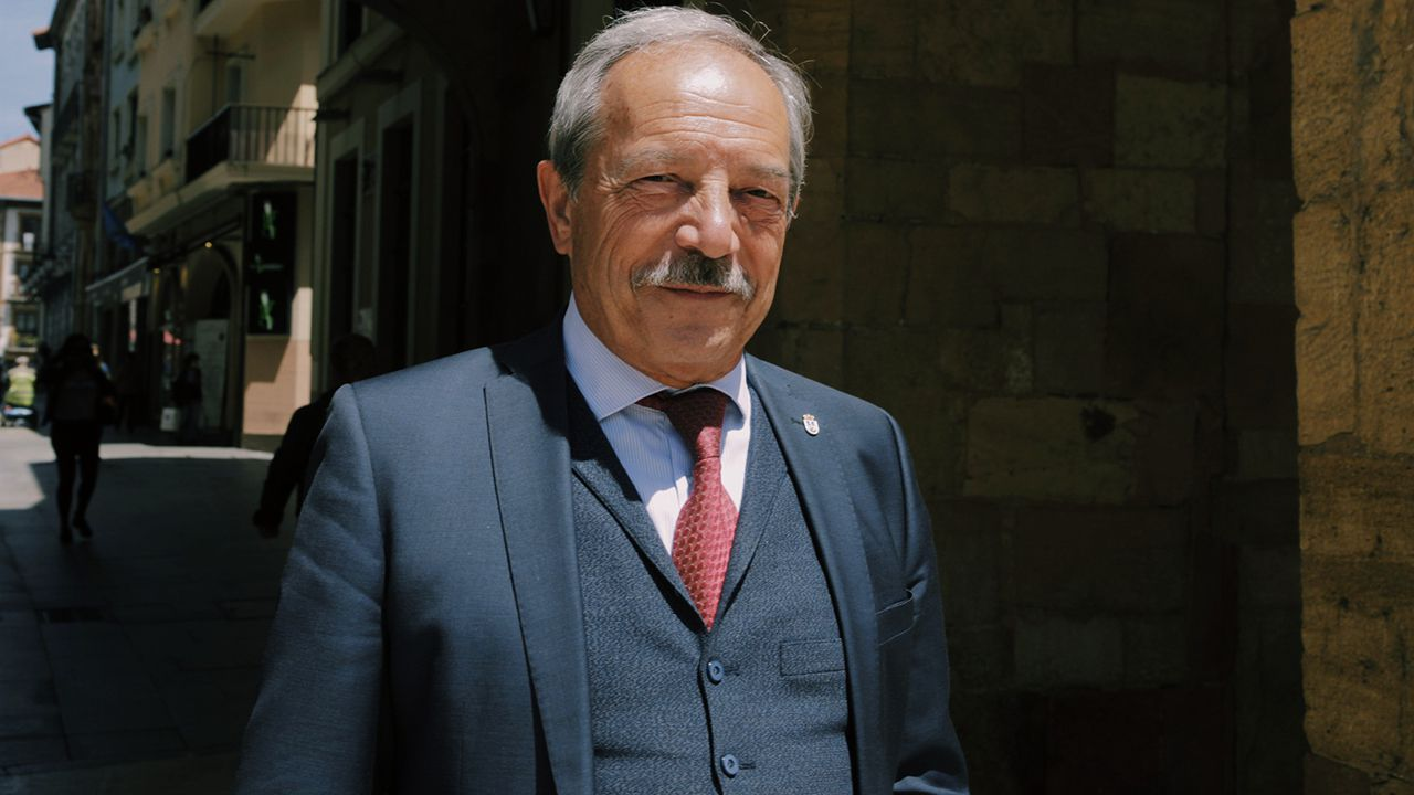 Wesceslao López, candidato del PSOE a la alcaldía de Oviedo