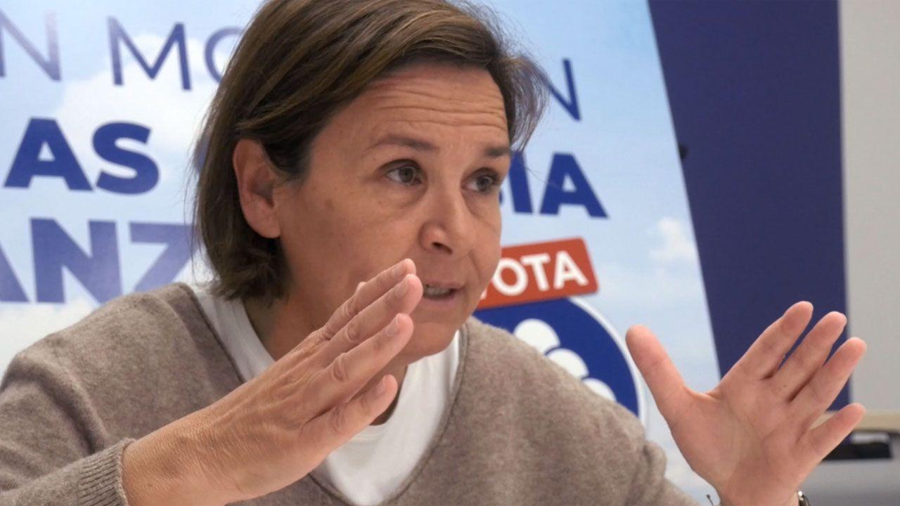 Entrevista a Carmen Moriyón, candidata de Foro a la presidencia del Principado.Arturo Pérez de Lucia, director General de AEDIVE