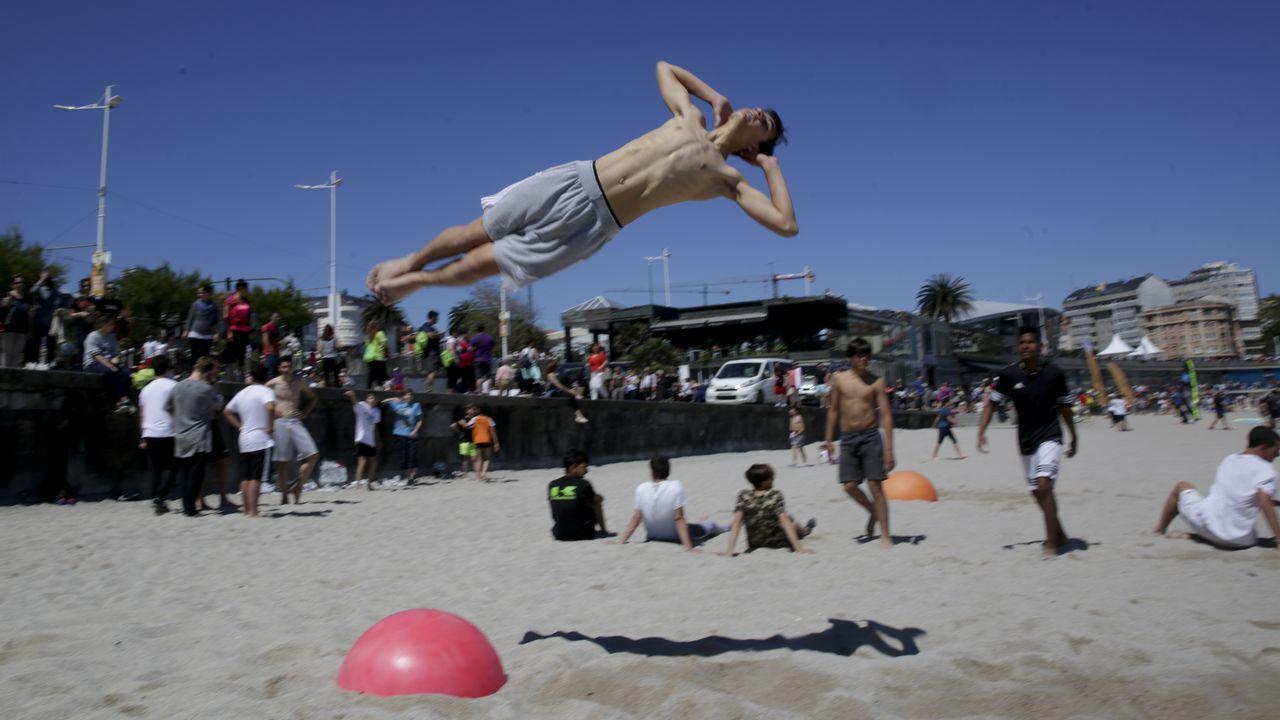 A Coruña celebra elDía do Deporte na Rúa.