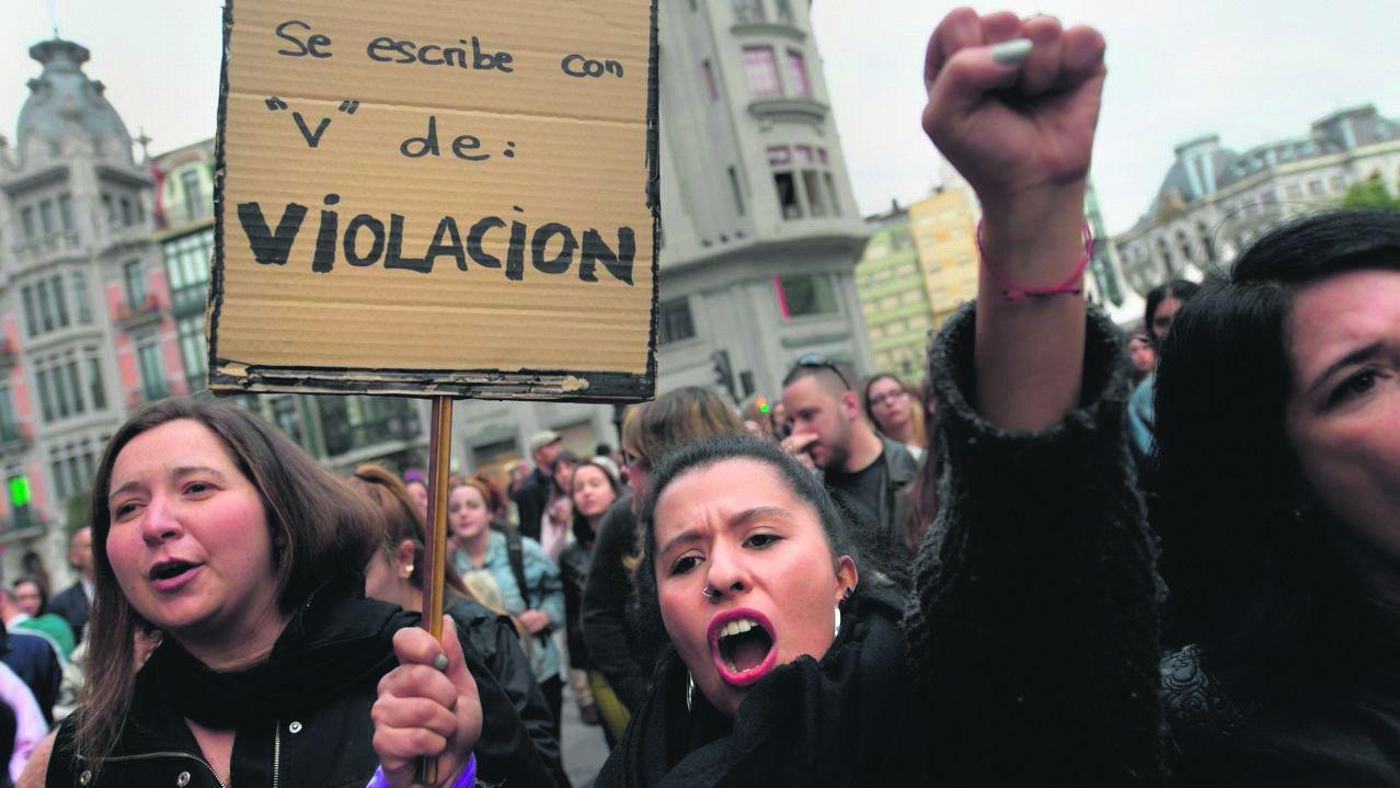 Manifestación 8-M en Oviedo