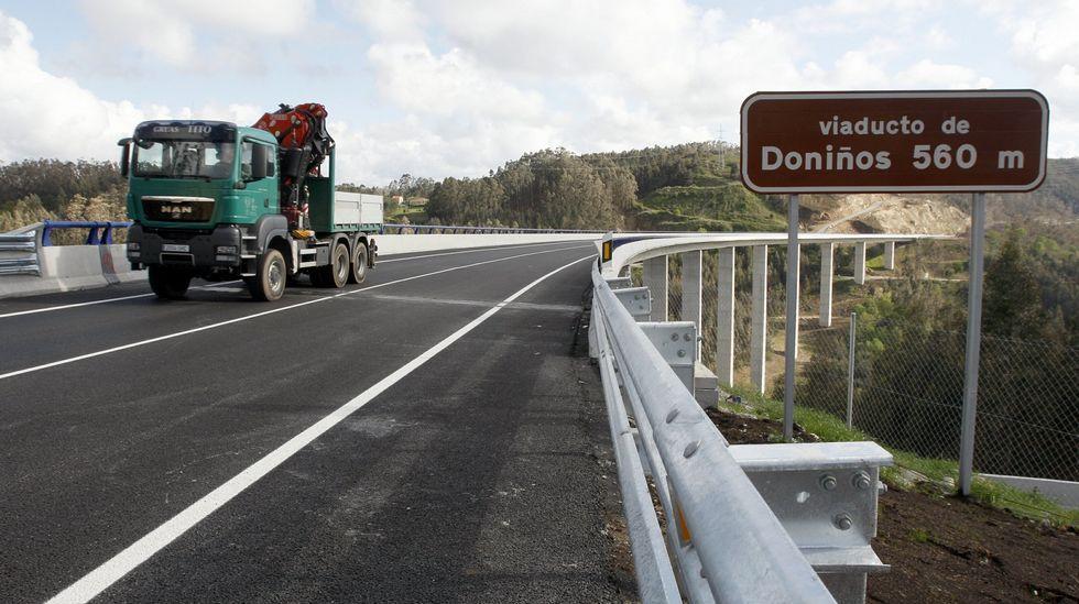 .Caneliñas solo tiene acceso por carretera