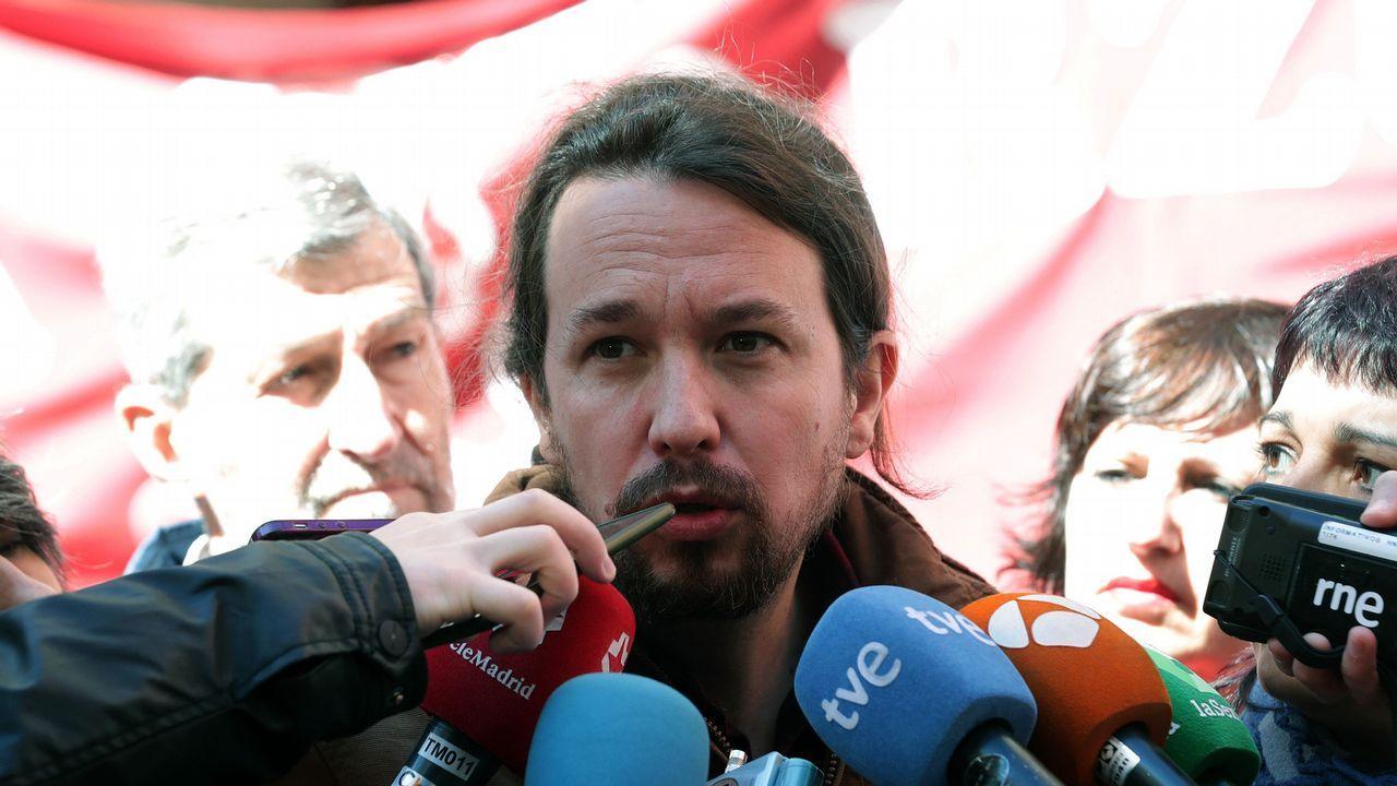 Iglesias: «¿Puede garantizar que sus candidatos son, al menos, tan limpios como usted?».Alberto Garzón