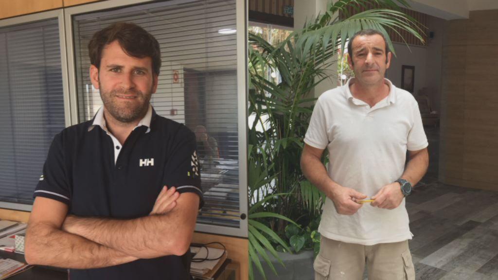 La construcción se reforma en Canarias.Alberto Veiga dirige la emisora Onda Fuerteventura y también presenta todo tipo de actos