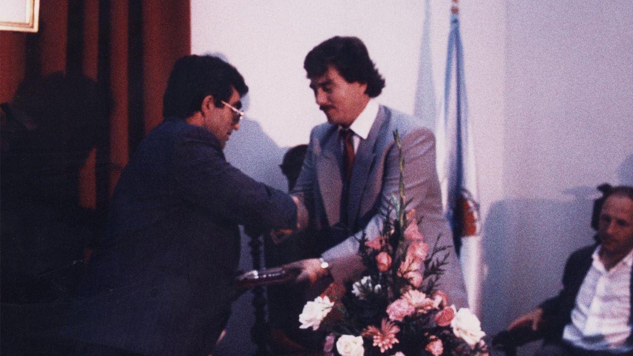 Sito Miñanco declara en la Audiencia Provincial de Pontevedra.Sito Miñanco