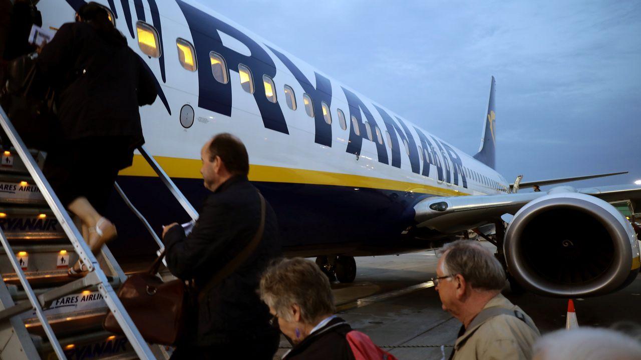 La odisea de un pasajero afectado por las cancelaciones de Ryanair.Michael O'Leary, durante una de sus visitas a España