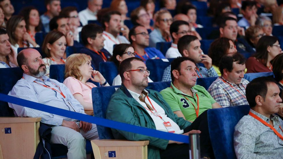 .Un momento del 32 Congreso de la FSA-PSOE