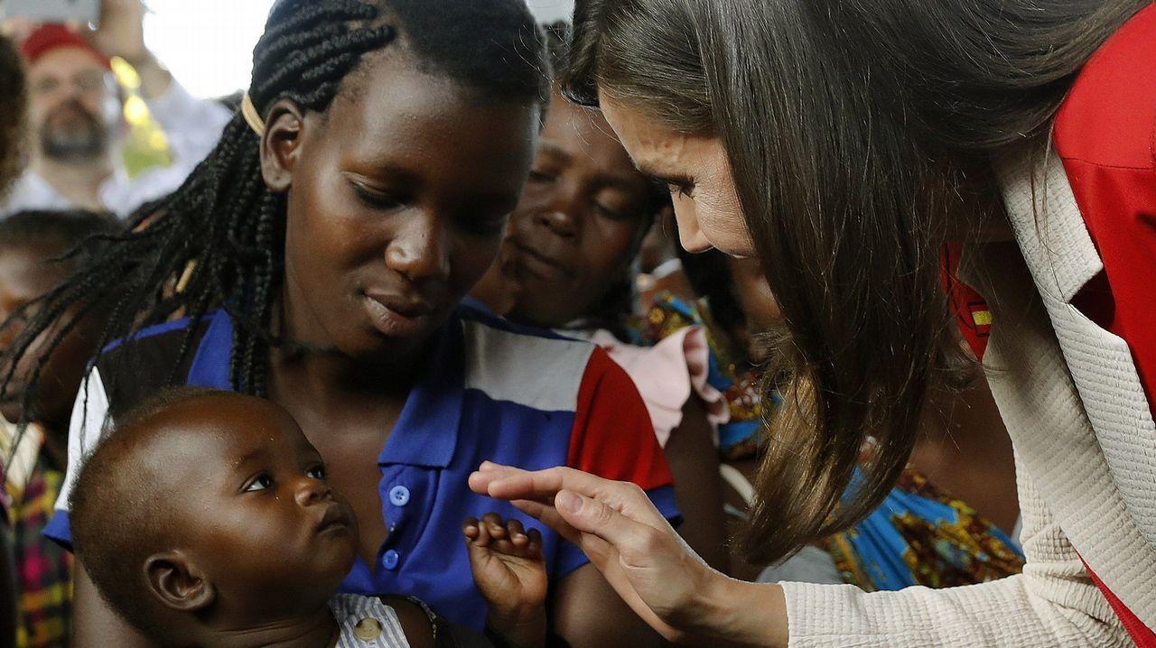 Letizia Ortiz, de viaje en Mozambique