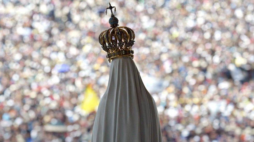 La llegada del Papa a Portugal