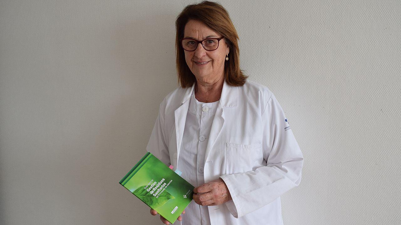 María Jesús Rosell, responsable de Medioambiente dentro del servicio de Prevención y Medioambiente del área sanitaria III