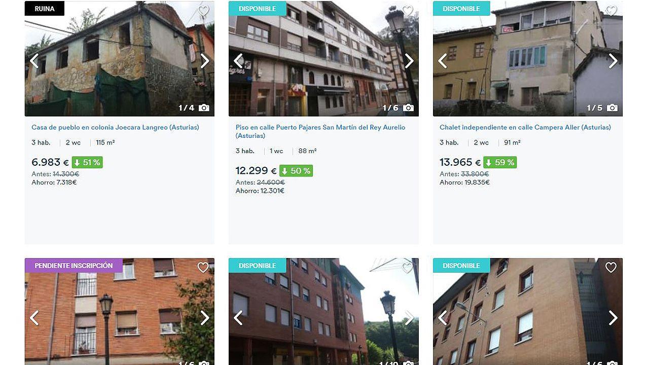 Oferta de pisos de Liberbank y Haya Real Estate, en Asturias