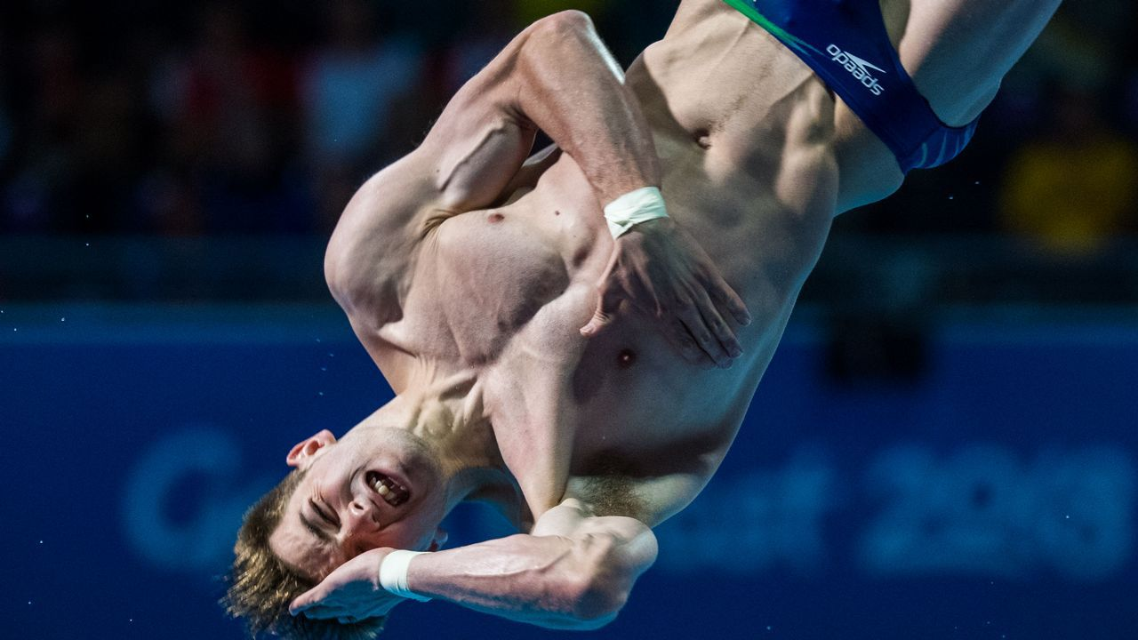 El saltador australiano James Connor, durante los Juegos de la Commonwealth que se celebran en la Costa de Oro
