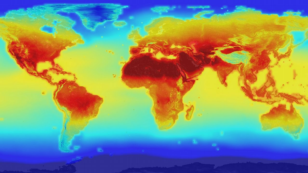.Varias proyecciones apuntan a un ascenso de tres grados en el 2100