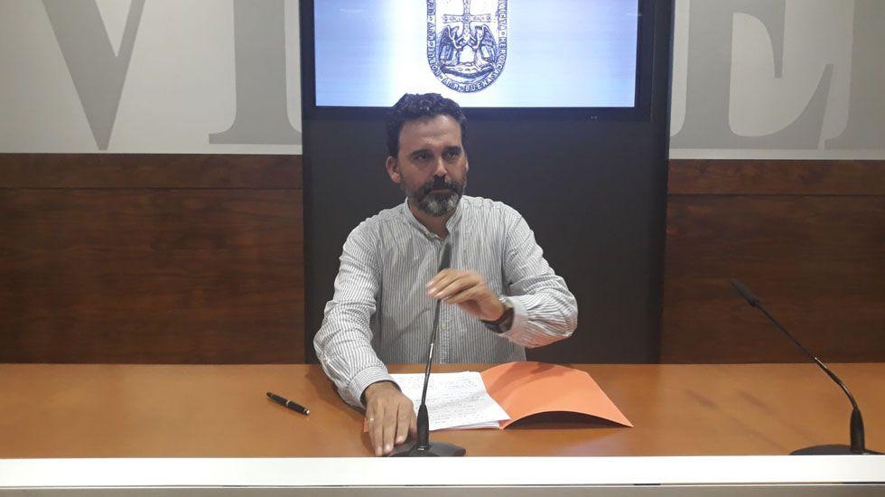 El concejal de Seguridad, Ricardo Fernández.El concejal de Seguridad, Ricardo Fernández