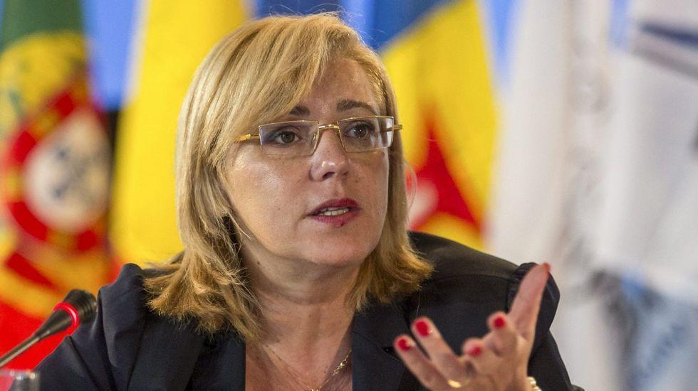 La ministra canadiense de Comercio, Chrystia Freeland.