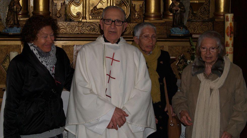 Laureano Conde Santamaría celebra 50 años en el sacerdocio.