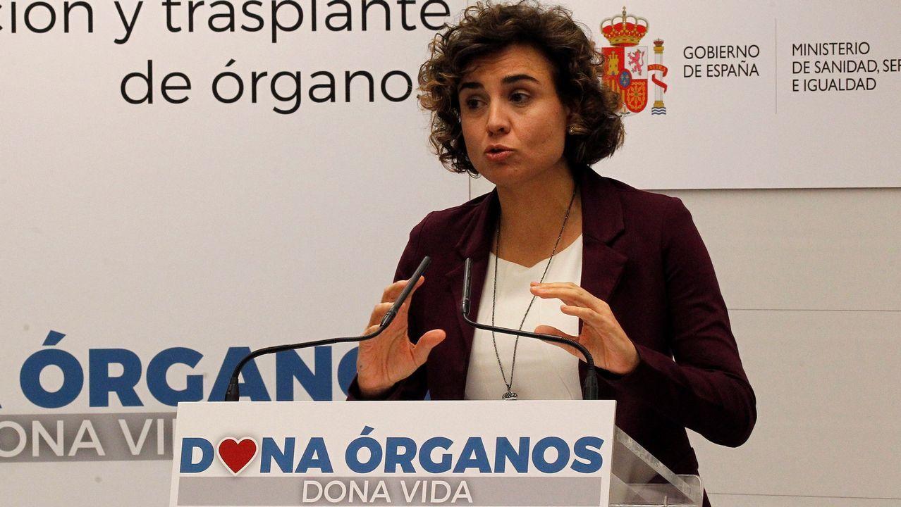 .La ministra de Sanidad, Dolores Montserrat