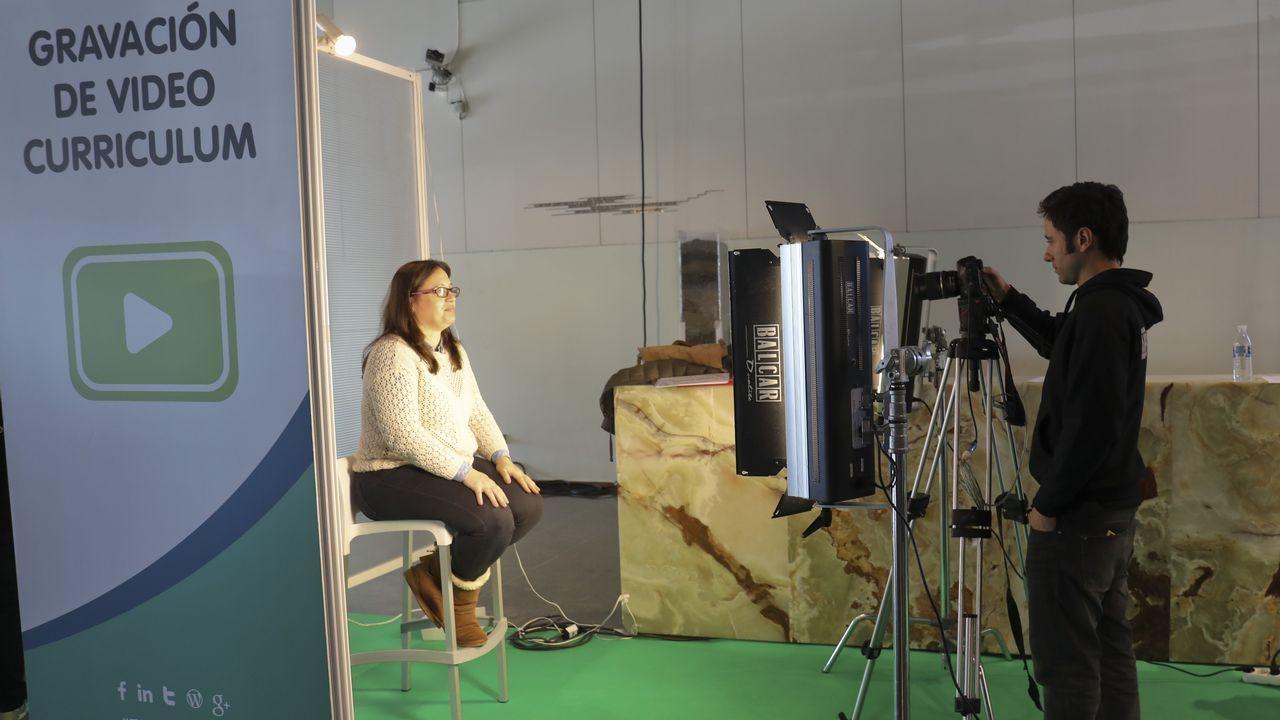 Así fue la primera jornada de Talentia.La consejera de Servicios y Derechos Sociales, Pilar Varela