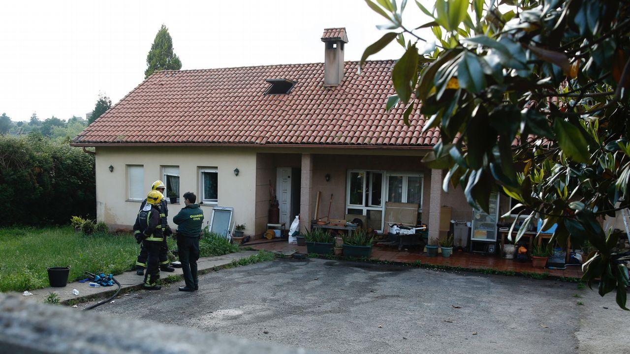 Pierde la vida en un incendio enuna vivienda en Carral