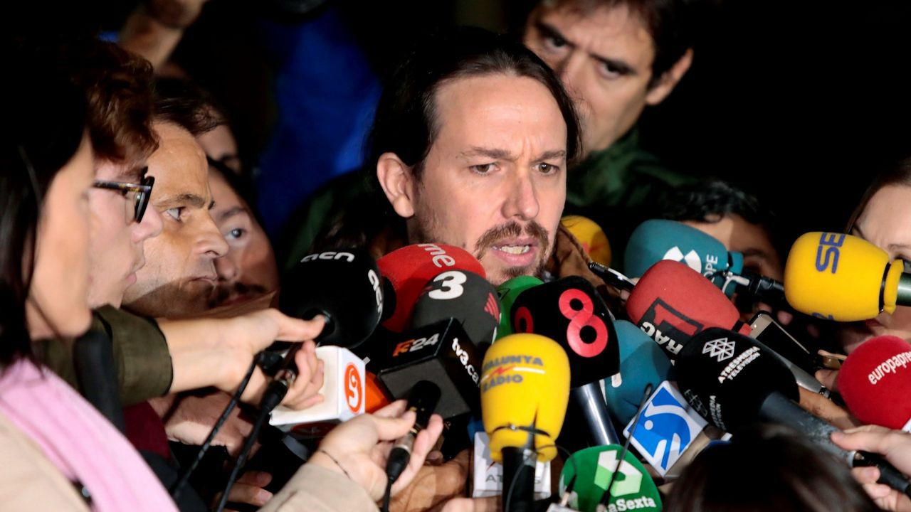 Iglesias ofrece a Urkullu «cuidar la mayoría que desalojó al PP del Gobierno».Bescansa y Gómez-Reino, en la asamblea ciudadana de Podemos