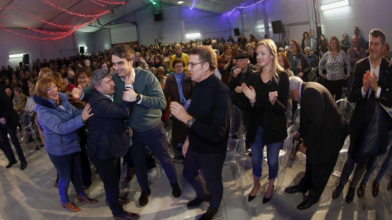 Núñez Feijoo en la rueda de prensa posterior a la reunión del Consello de la Xunta