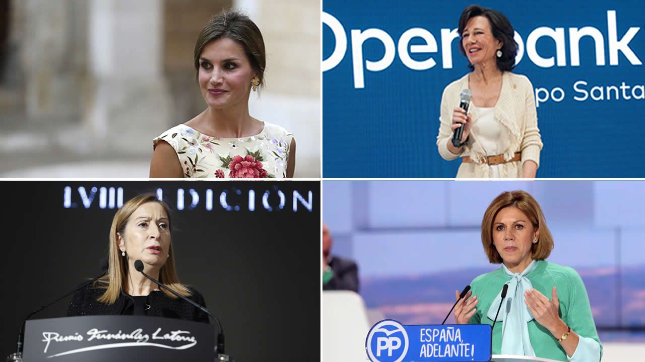 Algunas de las mujeres más poderosas en España.