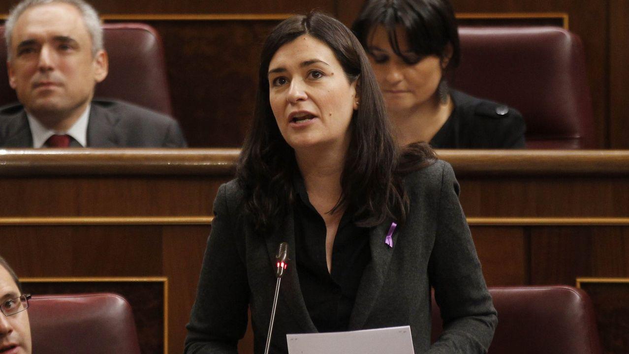 Carcedo visitó Galicia el miércoles para inaugurar el congreso estatal de voluntariado