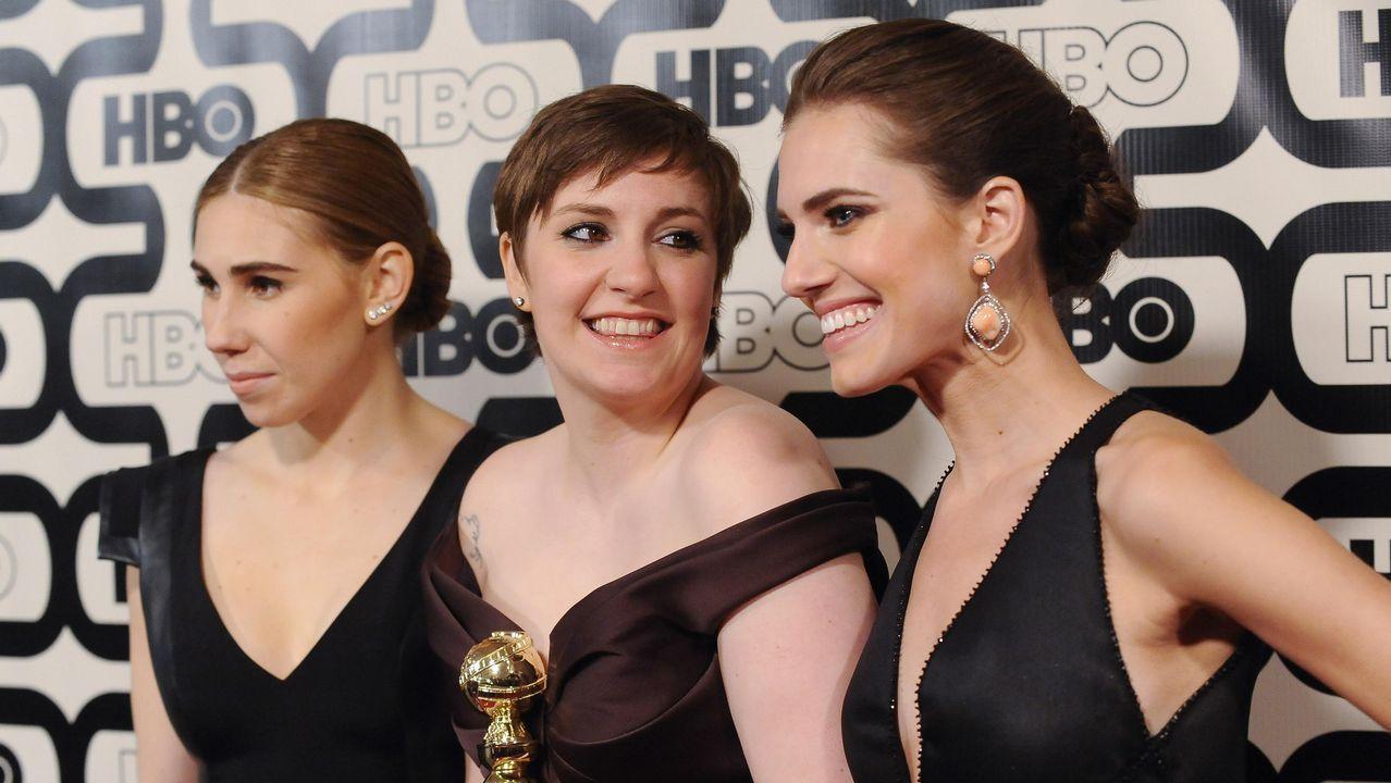Las actrices más reconocidas de Hollywood crean un fondo contra los abusos sexuales.Martin McDonagh, Sam Rockwell, Frances McDormand, Graham Broadbent y Peter Czernin de «Tres anuncios en las afueras».