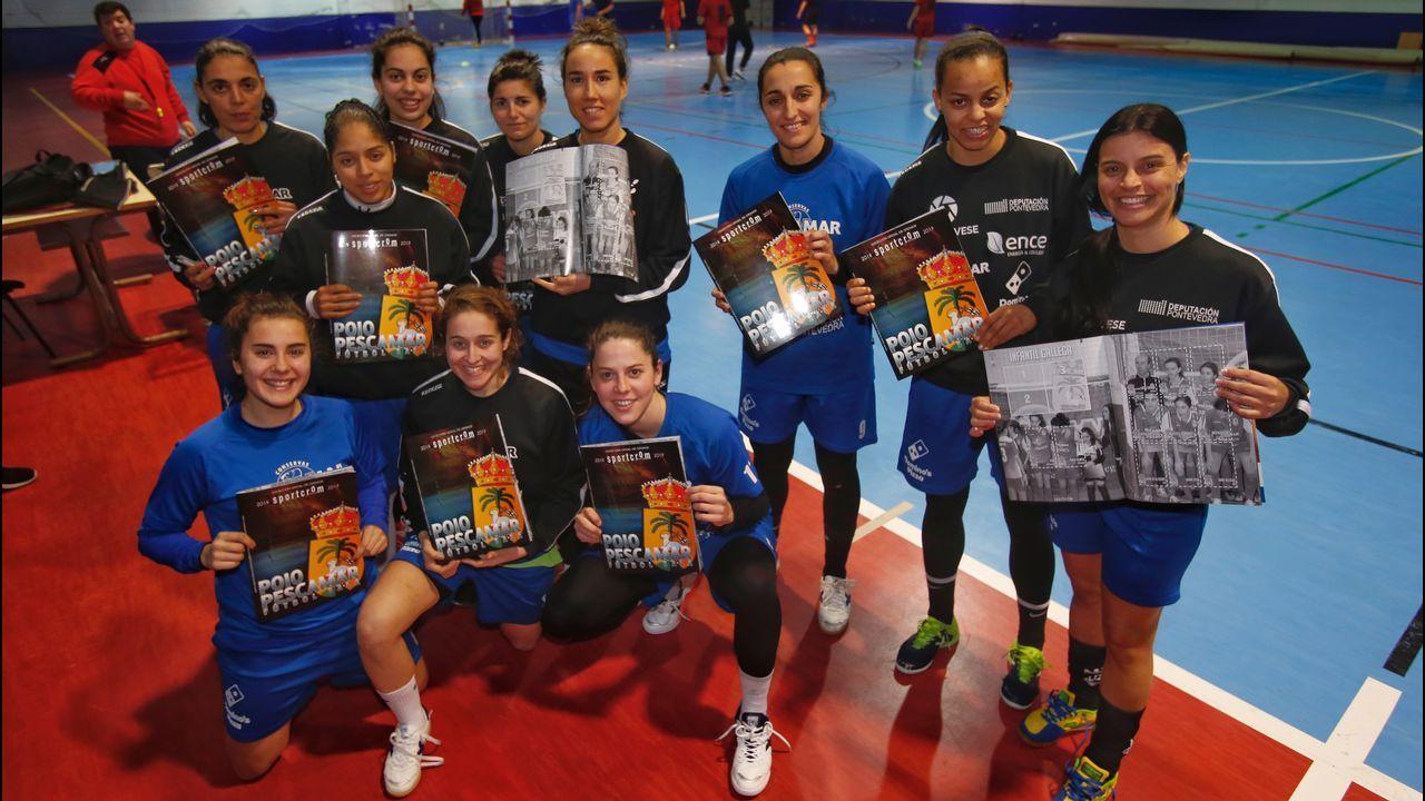 Contundente victoria del Pontevedra CF ante el Fuenlabrada