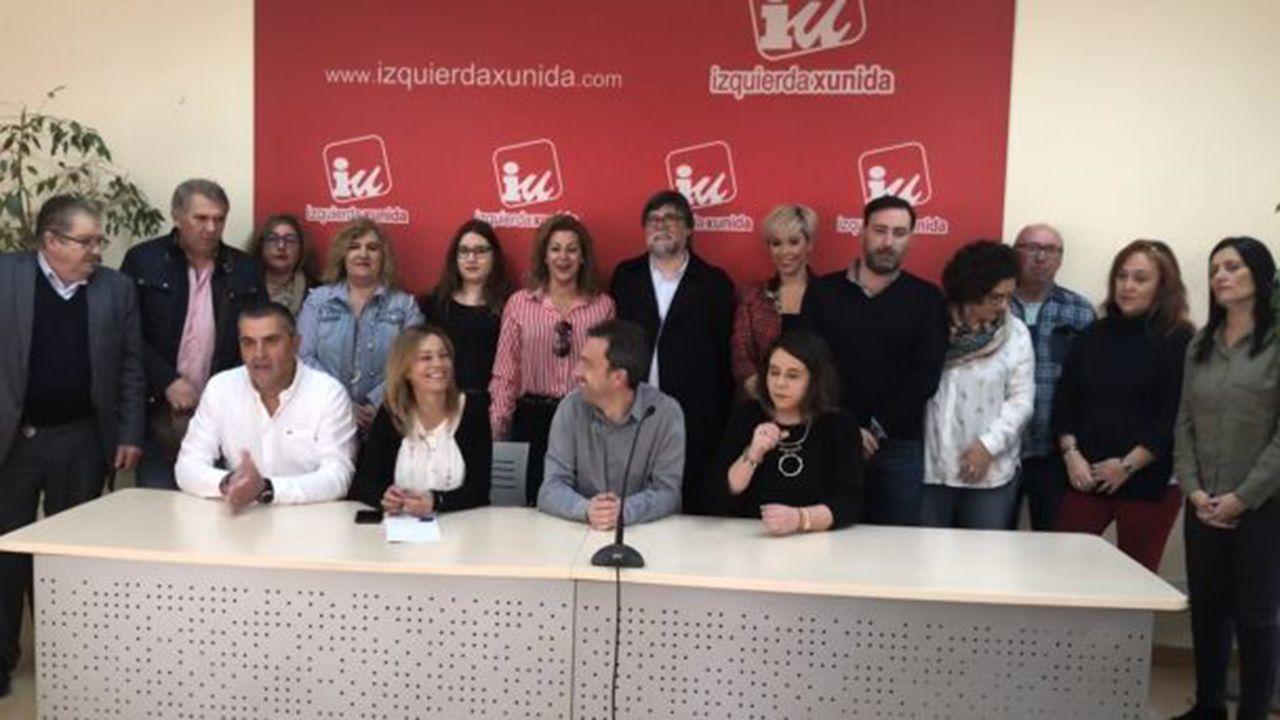 La eurodiputada de IU Ángela Vallina.Candidatura de Ángela Vallina a las primarias de IU