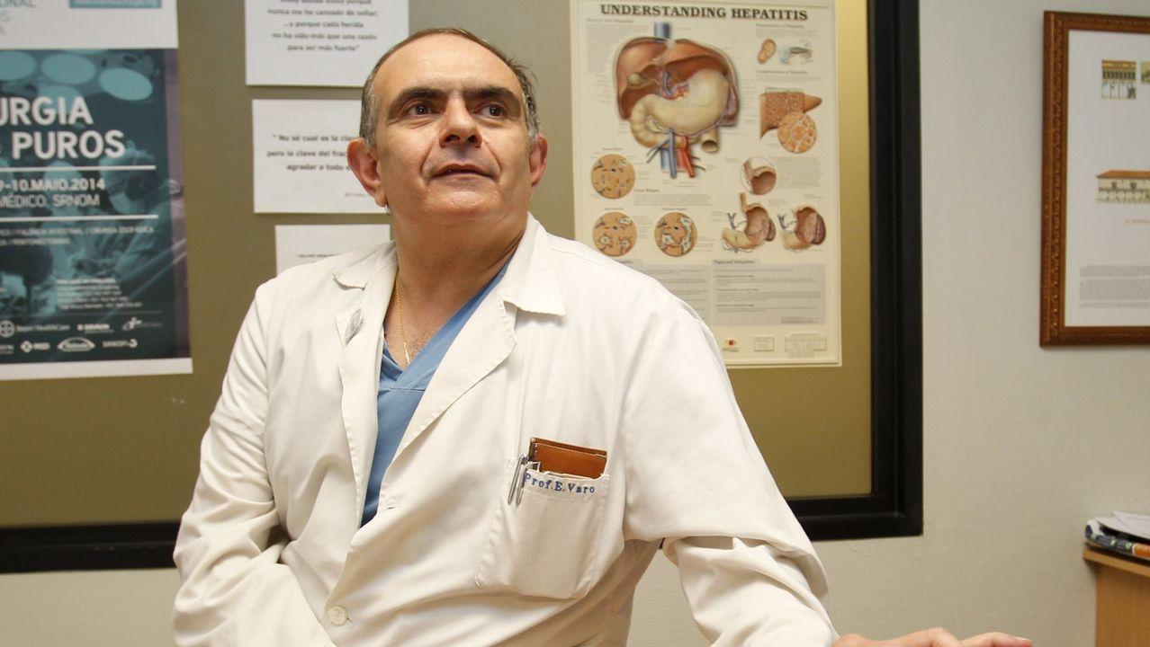 Otro 'milagro' de la medicina: el hígado que salvó dos vidas.Eduardo Zaplana, durante un registro el pasado mayo