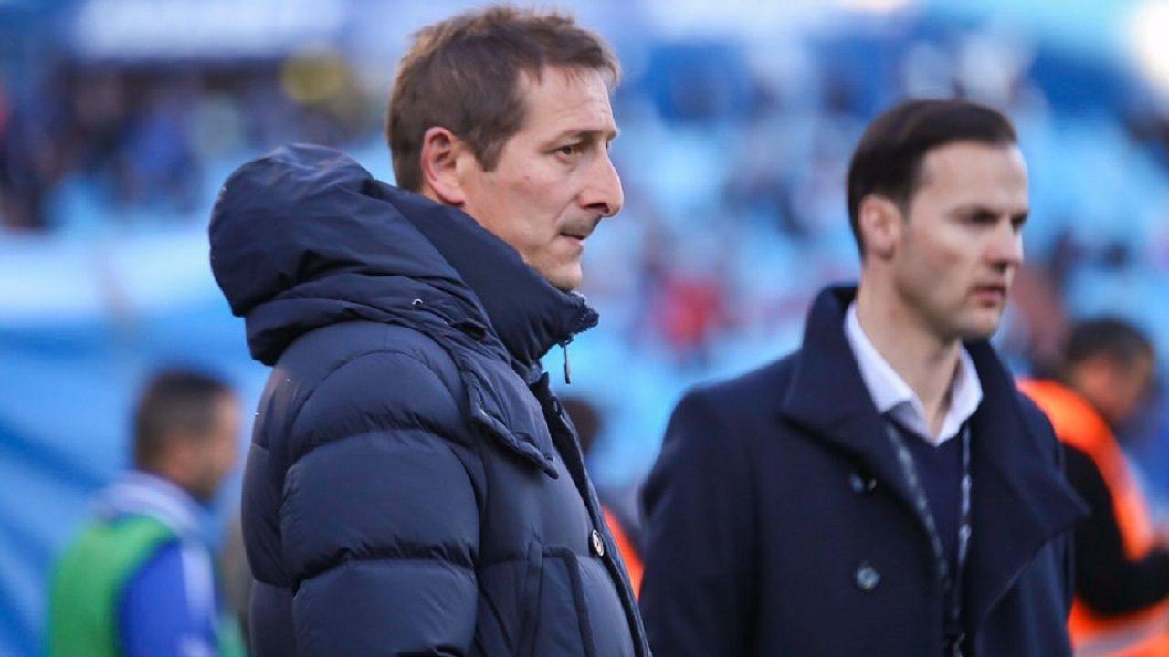 Gol Folch Joselu Real Oviedo Albacete Carlos Tartiere.Luis Miguel Ramis
