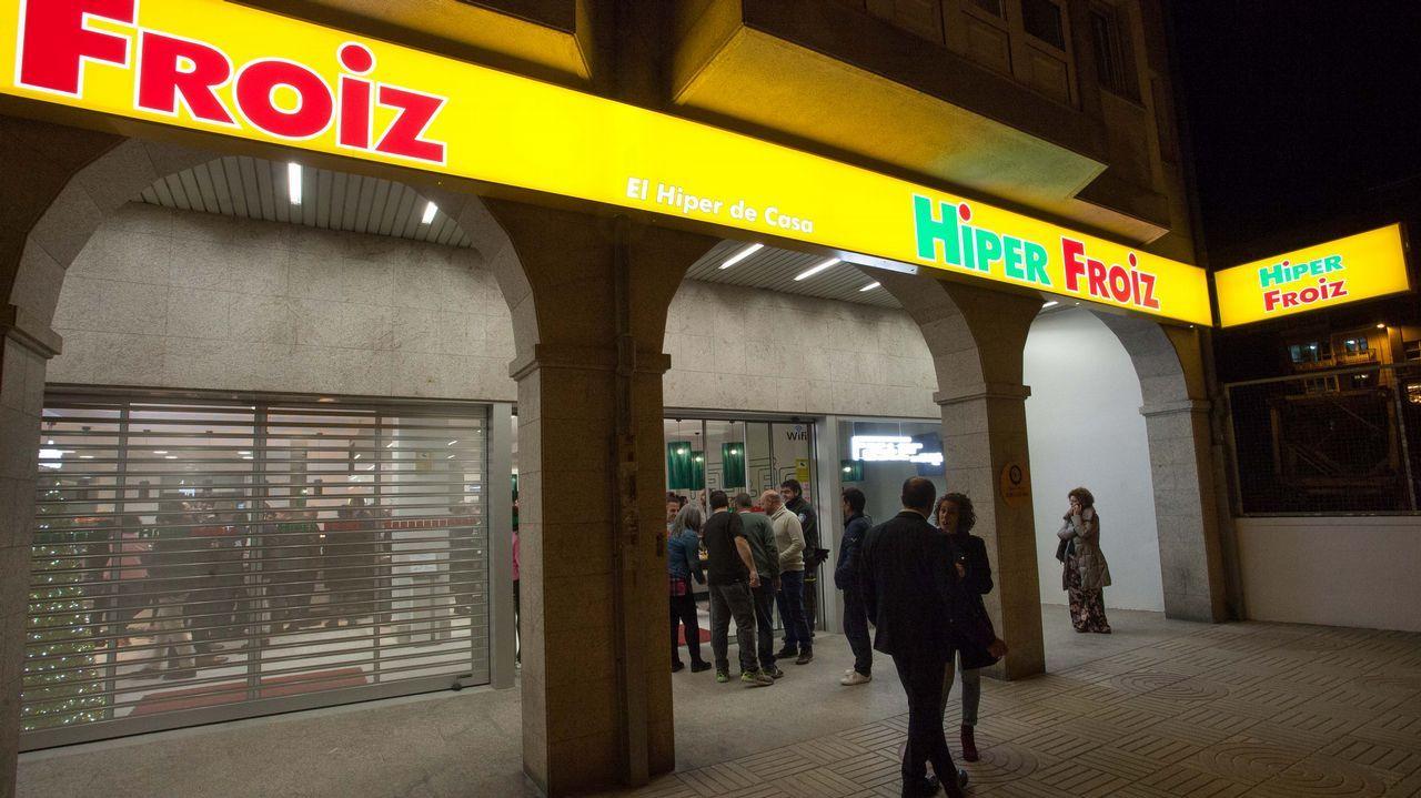 Froiz abre un hipermercado en Montero Ríos