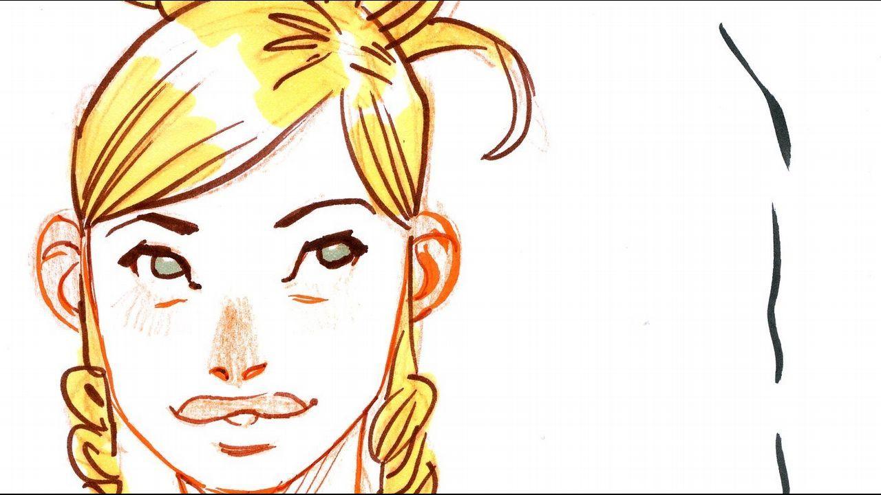 Dibujo de Homs para La Voz