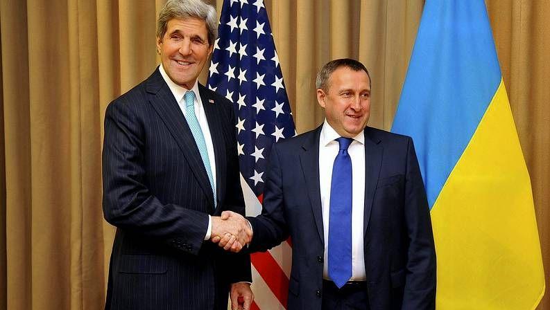 El secretario de Estado de EE. UU. y el ministro de Asuntos Exteriores ucraniano