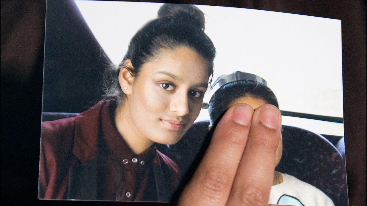 Shamina, en una foto antes de integrarse en el Estado Islámico como esposa de combatientes con apenas 15 años