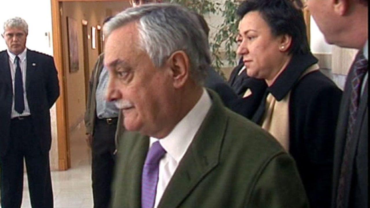 Luis Vicente Moro, en primer término