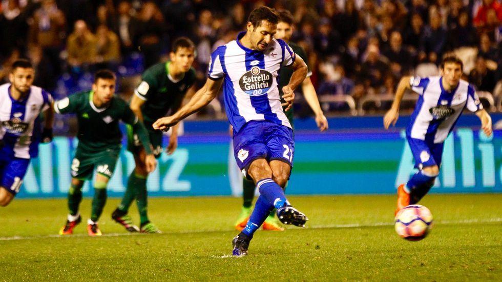 Las mejores fotos del Deportivo-Betis.