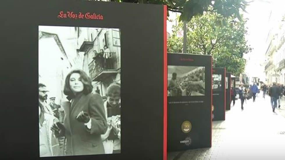Exposición 50 anos de La Voz de Galicia en Lugo.