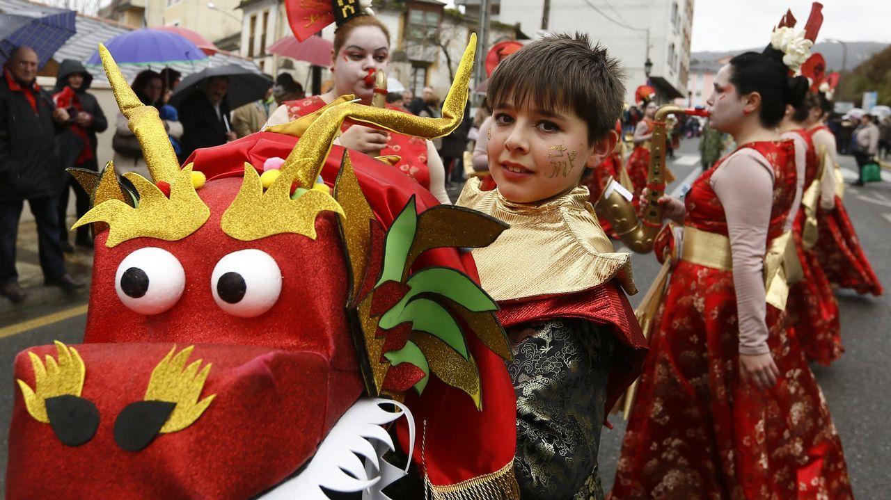 Desfile de carnaval de Lourenzá