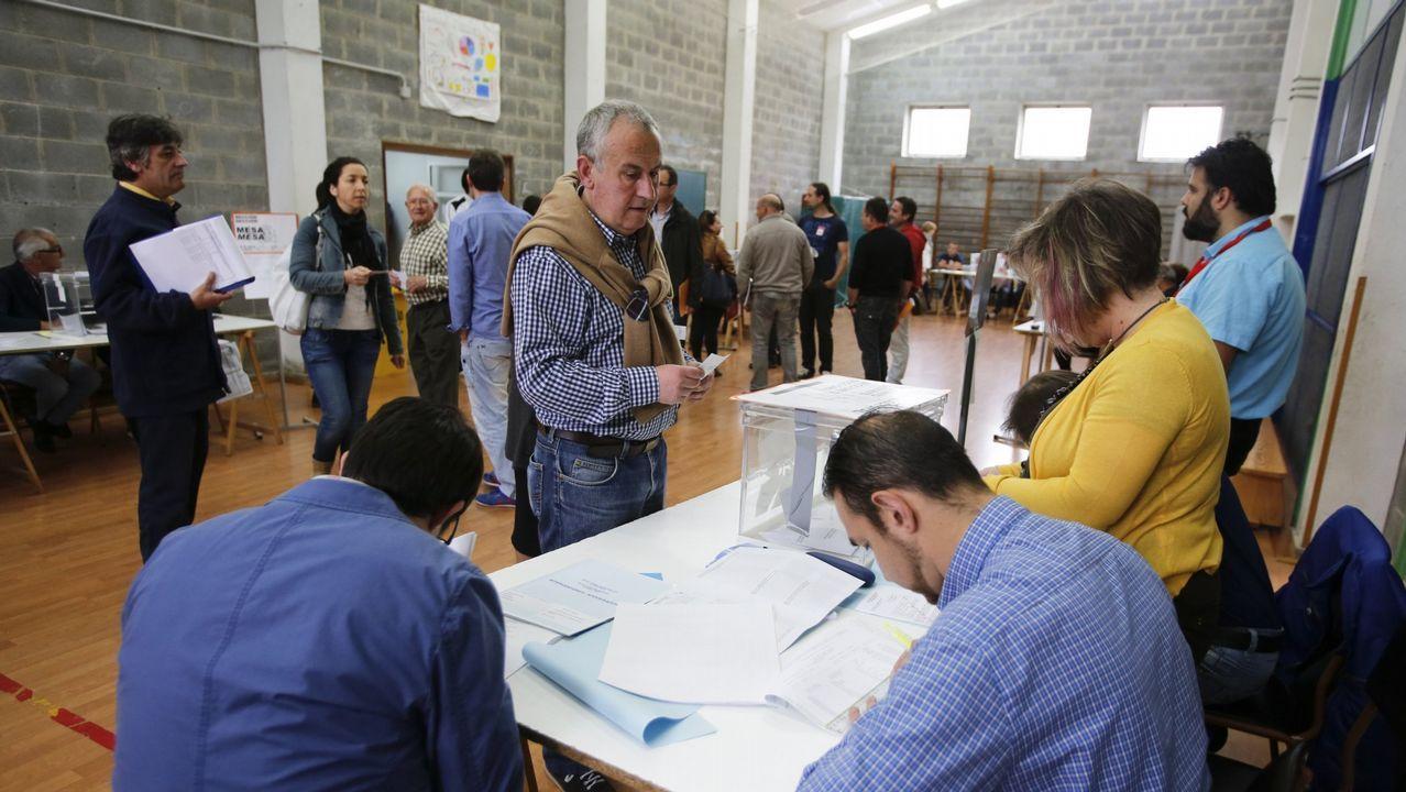 Estimación de voto en Ferrol.Pablo Casado