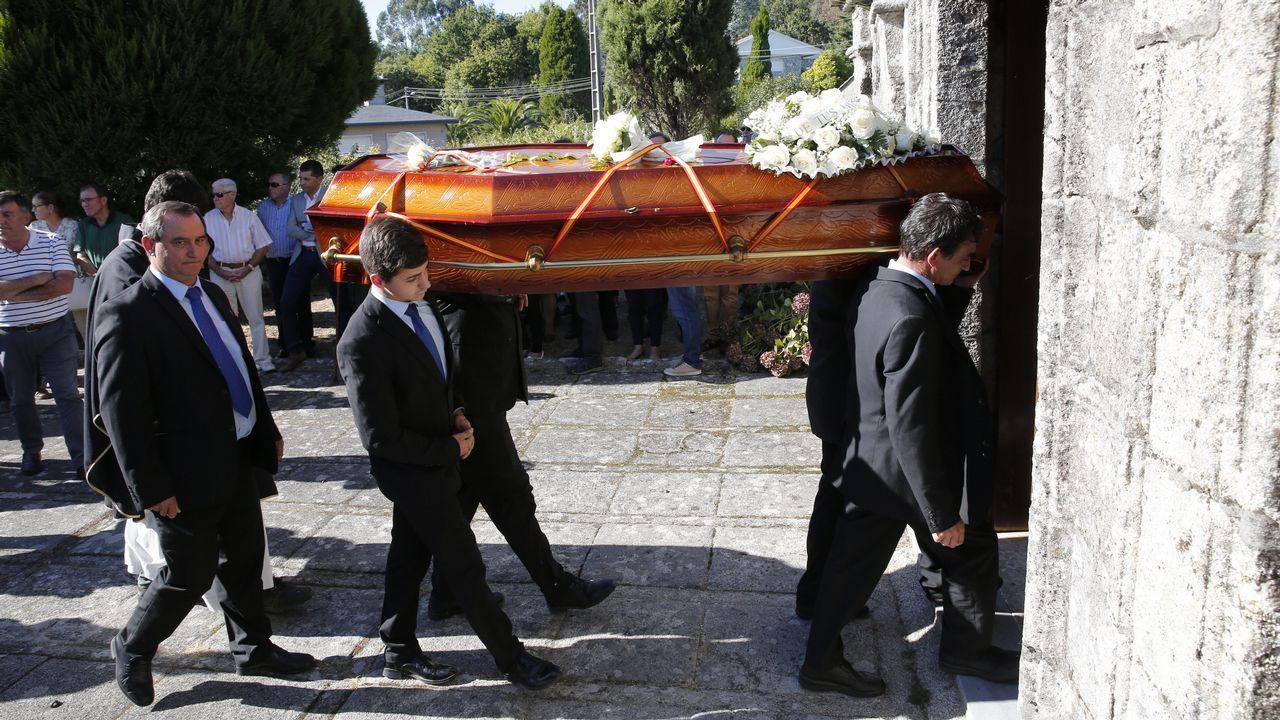 Enterrado en Ponte Caldelas el gallego tiroteado por la policía en Brasil